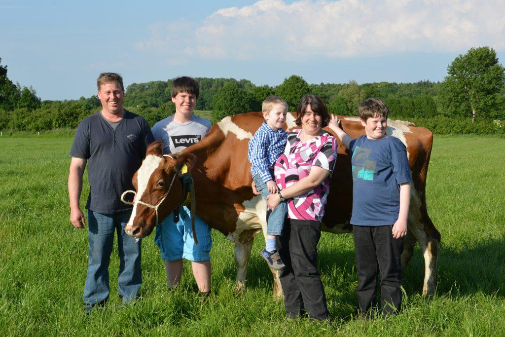 Familie Timm vom Hühnerhof Nindorf